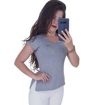 007a90de5 Kit Atacado 15 Camisetas Blusa Long Line Feminina Estampada · R  405