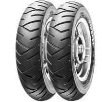 Par Pneu Dianteiro + Traseiro Burgman 125 Pirelli 3.50/10