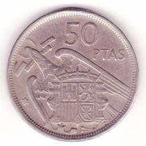 Espanha - 50 Pesetas - Francisco Franco - 1957