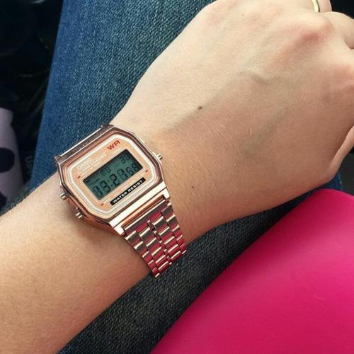 d05327ad8 Relógio Casio Vintage Digital Unissex Feminino Masculino