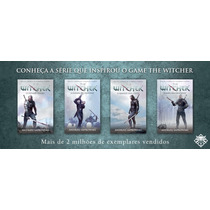 The Witcher - Kit Com Os 04 Livros Da Série The Witcher