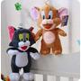 Bonecos Tom E Jerry Pelúcia Kit Com 2 Bonecos 25cm.