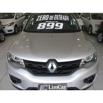 Renault Kwid Completo   Zero De Entrada + 60 X 899,00 Fixas