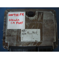 Modulo De Injeção Fiat Strada 1.4 Flex Iaw. 4sf- Pr / Resset