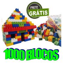 Bloquinhos Infantis 1000 Peças Brinquedo De Montar