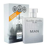 Vodka Man Paris Elysees Masculino 100 Ml 212 Vip