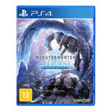 Jogo Monster Hunter World: Iceborne - Ps4