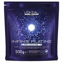 Pó Descolorante Loréal Infinie Platine Pro Keratine 8 Tons