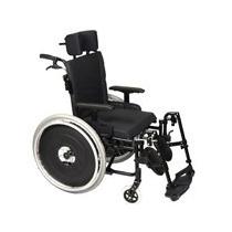 Cadeira De Rodas Avd Reclinável - Ortobras- L:44cm/preta