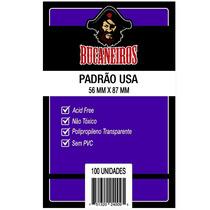 Sleeves - Protetor De Cartas Padrão Usa (56x87) - Bucaneiros