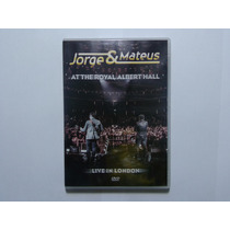 Dvd Jorge E Mateus - Live In London - M70