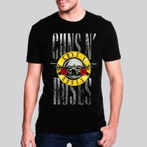 Camiseta Guns N Roses Red Flower Masculina - Ar