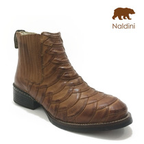 Bota Botina Escamada Country Texana 100% Couro - To12010
