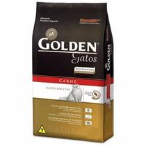 Ração Golden Gatos Adultos Carne 10kg