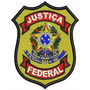 Bordado Termocolante - Brasões - Justiça Federal 10x8,2cm
