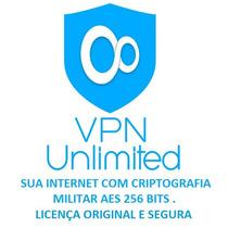 Vpn Unlimited - Licença 1 Ano - 5 Aparelhos- 12 X Sem Juros