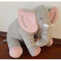 Almofada Elefante 65 Cm Para Bordar Leia A Descrição