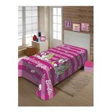 Cobertor Jolitex Ternille Manta Soft Solteiro Barbie Grandes Sonhos