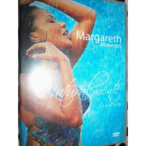 Dvd Margareth Menezes Acústico Part: Brown, Saul, Represas