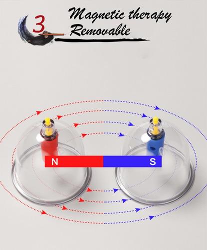 Kit Ventosa Kit  32 Copos + Bomba + Magnetos