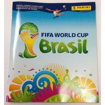 Álbum De Figurinhas Copa Do Mundo De 2014 Completíssimo!!