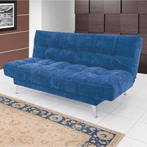Sofá Cama Valentina 906 Linoforte Azul Jeans