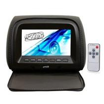 Encosto De Cabeça Monitor 7 Com Capa E Ziper - Preto