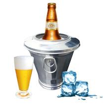 Cervegela Porta Gelo 600 Ml Fácil Utilização Mantem Gelado