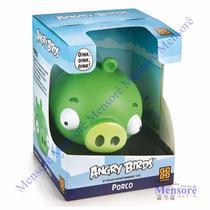 Boneco Angry Birds Vinil Coleção - Porco Grow