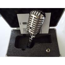 Microfone Csr Yoga Ygm-55 Cromado - Vintage