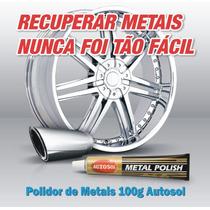 Metal Polish Autosol Polidor Metais Cromo Alumínio Calota Gt