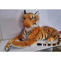 Tigre Pelúcia Médio 60 Cm