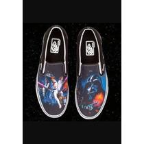 Vans Slip-on Star Wars R$ 279,00 N-9-40 Supply Sneakers Spac
