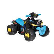 Moto Elétrica Infantil Quadriciclo Batman 6v Bandeirante