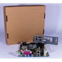 Placa Mae Ddr2, D945gclf Intel C/ Atom 230 1.6ghz (nova !!!)