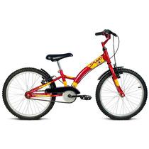 Bicicleta Infantil Verden Masculina Aro 20 Smart Vermelha