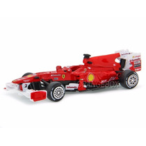 Fórmula 1 Ferrari F10 Fernando Alonso 1:43 Bburago 36810-10