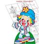 Molde Para Imprimir Patati - Display Chão E Mesa 0052