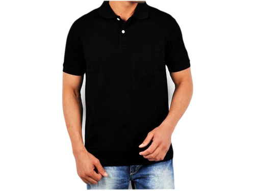 575117b11a07e Camisa Polo Masculina Lisa Pronta Entrega Para Uniforme