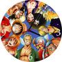 Relógio De Parede Em Vinil, Anime, One Piece