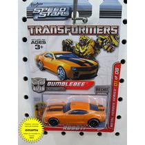 Camaro Bumblebee Transformers Hasbro Metal Escala 1/64