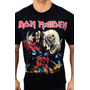 Camiseta Consulado Do Rock E587 Iron Maiden Camisa Banda Original