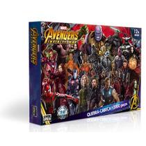 Quebra-cabeça 2000 Peças - Os Vingadores Guerra Infinita