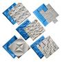 5 Formas Plástico E Eva Para Placa Gesso 3d - Envio Imediato Original