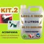 Lava Carro A Seco + Micro Fibra + Borrifador *kit Econômico*