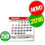 Calendário - Bloco Para Ímã 2014 - 1x0 - 1000 Unid.