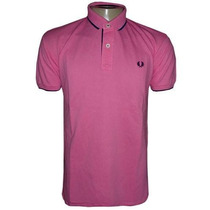 Camisa Fred Perry Gola Polo Camiseta Rosa Pink