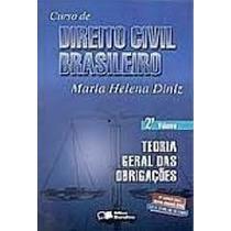 Livro C. Direito Civil Brasileiro Maria Helena Diniz 2 Vol