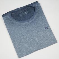 Camiseta Masculina Acostamento Lisa Flamê Casual Básico