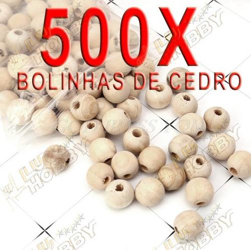 500 Bolinhas De Cedro Roupas Anti Traça Mofo Bolor Canforada